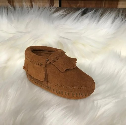 Minnetonka Child's Riley Bootie-Brown