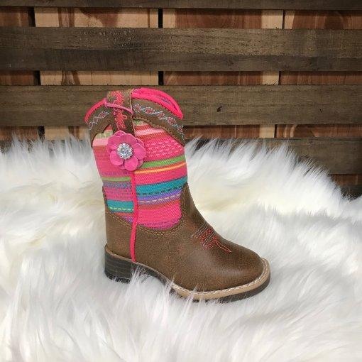 Blazin Roxx Girls Camilla Serape Square Toe Boot 4419844