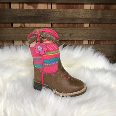 Blazin Roxx Girls Camilla Serape Square Toe Boot 4419844