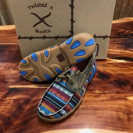 Women's Twisted X Driving Mocs Serape/Bomber WDM0076