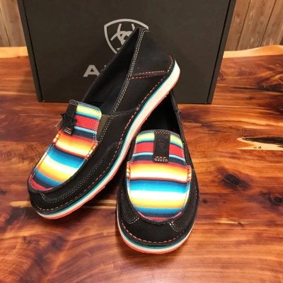 Women's Ariat Chocolate Fudge Serape Cruiser 10021153