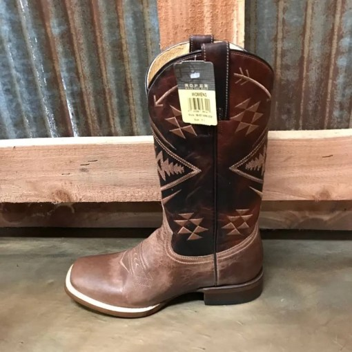 Women's Roper Ruby Square Toe Boot 0230 BR