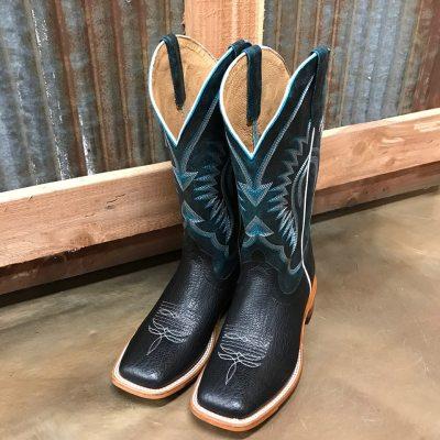 Men's Horse Power Black Bull Square Toe Boot HP1831