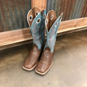 Women's Ariat Round Up Ryder Square Toe Boot 10017394