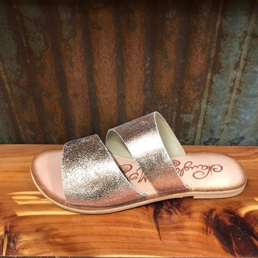 Ladies Naughty Monkey Spirited Rose Gold Sandal NMSA0301