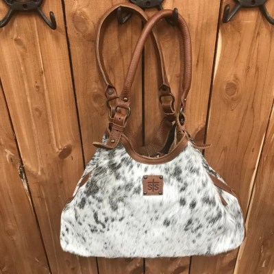 STS Classic Cowhide Hobo Tote STS31183