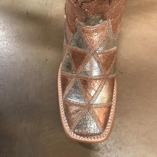 Women's Tin Haul Mish & Mash Metallic Square Toe Boot