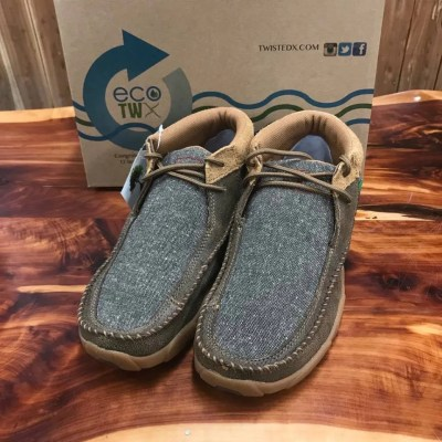 Men's ECO Twisted X Driving Mocs-Chocolate & Dust MDM0070