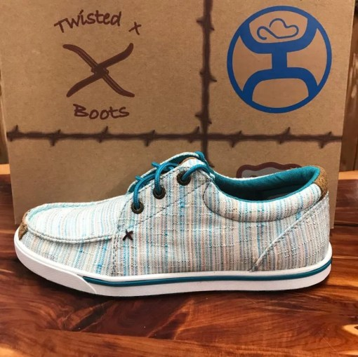 Women's Twisted X Hooey Lopers-Multi-Blue WHYC004
