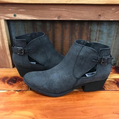 Ladies Not Rated Priscilla Black Bootie