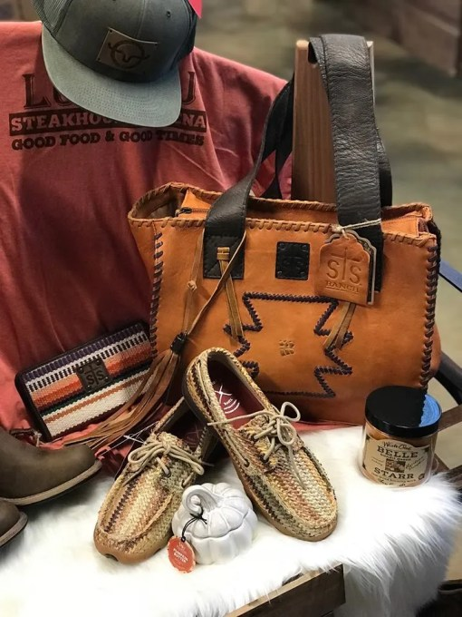 STS Sienna Tote Cognac with Chocolate