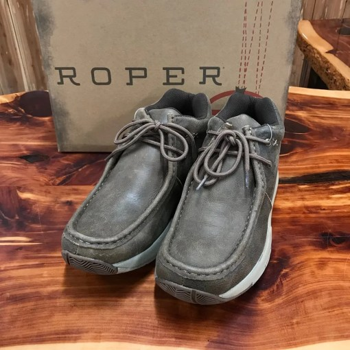 Roper Men's Clearcut Vintage Leather Chukka