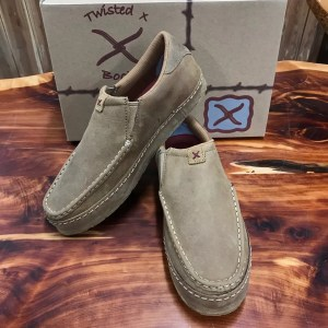 Twisted X Men's Tan Western Sneaker Slip Ons MWS0004