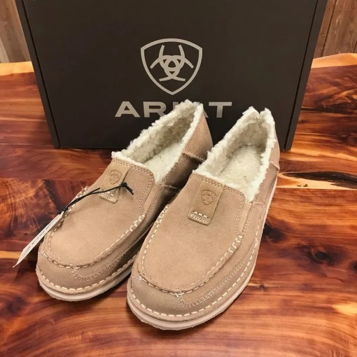 Women's Ariat Light Beige Fleece Cruiser 10025058