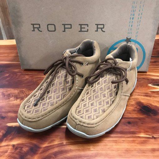 Roper Women's Tan High Country Diamond Shoe 09-021-1780-2127