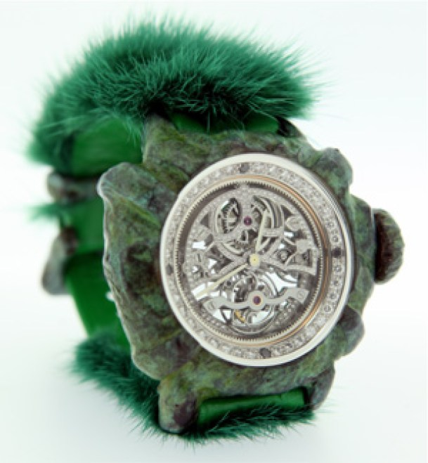 green furry watch - but is it the worst watch ever?