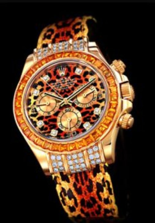 worst watches ever tylers tiger print rolex