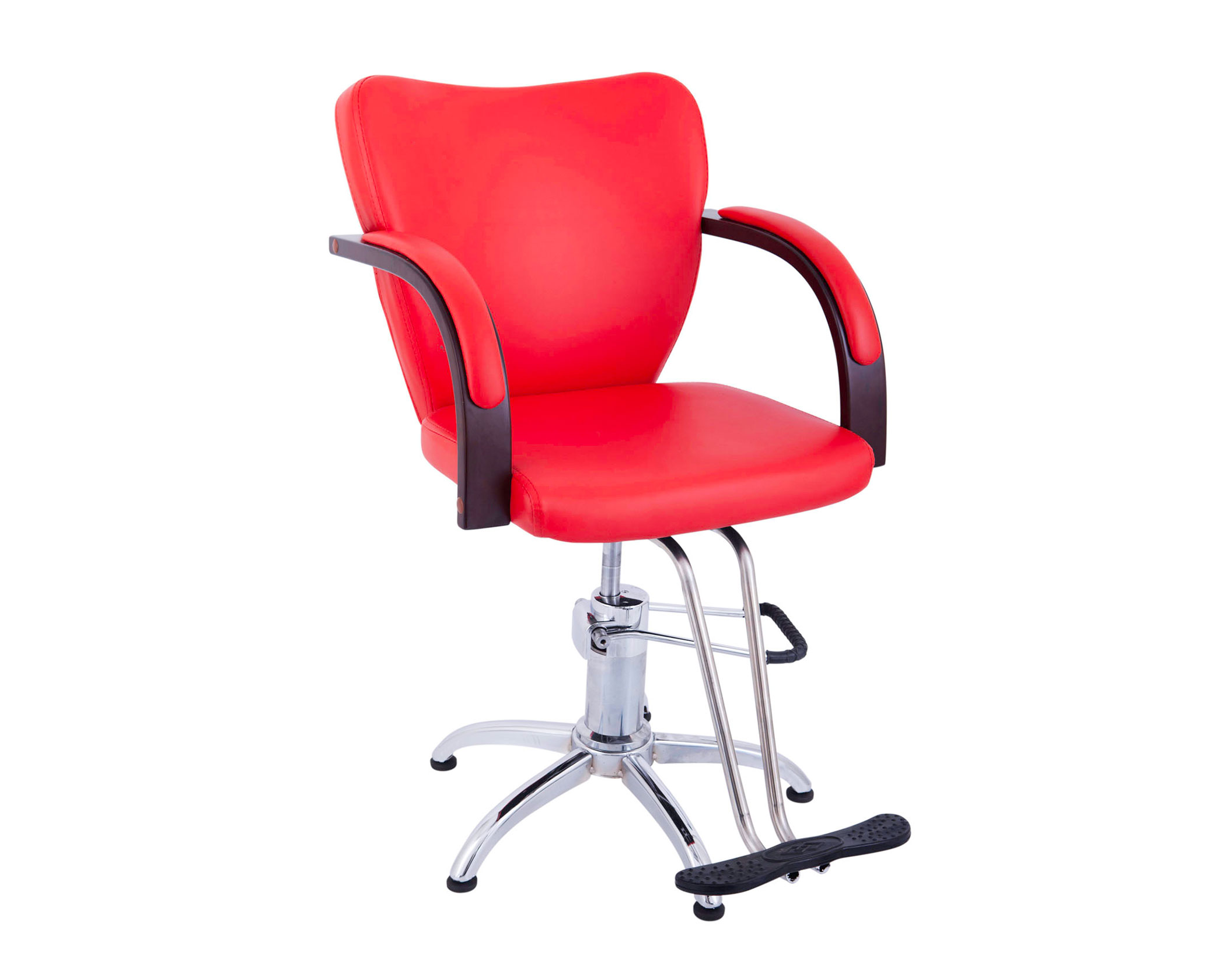 Red Salon Chairs Red Retro Styling Chair Lucky Cy863rd Lucky Lifestyles
