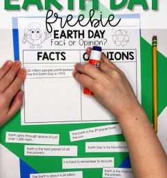 Earth Day in the Classroom - Lucky Little Learners [ 1024 x 791 Pixel ]