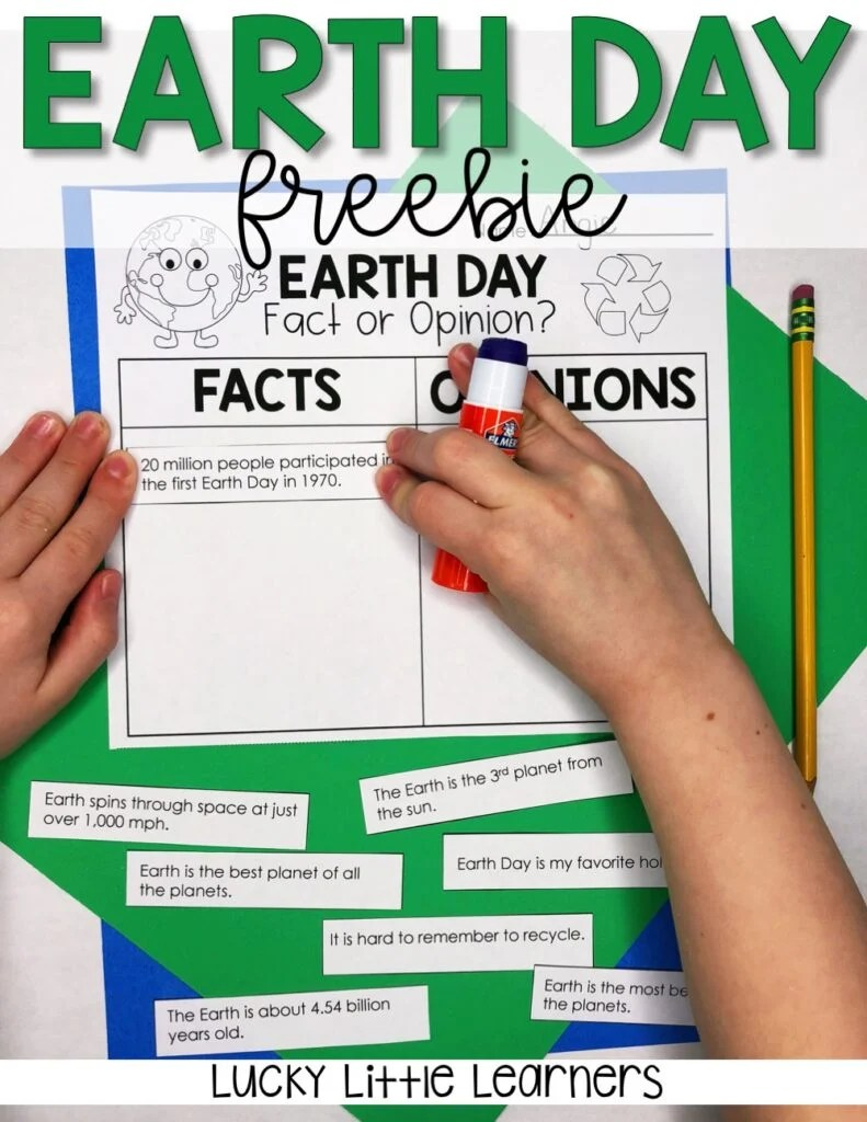 hight resolution of Earth Day in the Classroom - Lucky Little Learners