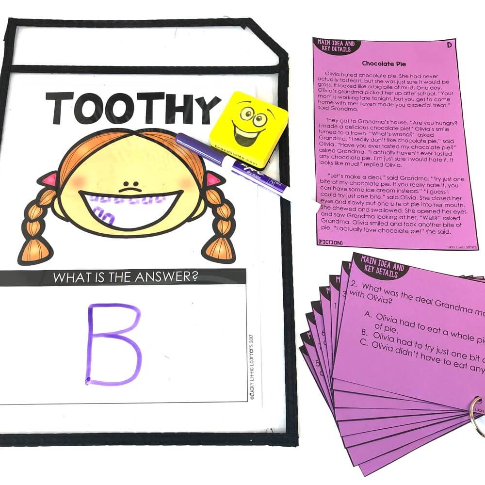 hight resolution of 2nd Grade Reading Toothy - Lucky Little Learners