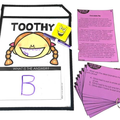 small resolution of 2nd Grade Reading Toothy - Lucky Little Learners
