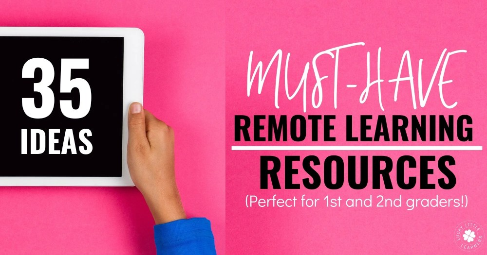 medium resolution of 35 Useful Remote Learning Resources - Lucky Little Learners
