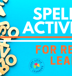 Spelling Activities for Remote Learning - Lucky Little Learners [ 1050 x 2000 Pixel ]