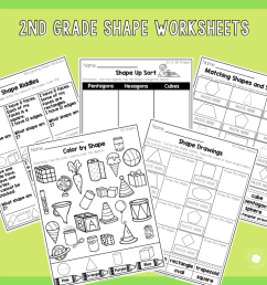 2nd Grade Math Worksheets - No Prep! - Lucky Little Learners [ 1024 x 1024 Pixel ]