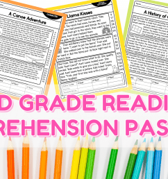 2nd Grade Reading Comprehension Passages - Lucky Little Learners [ 1050 x 2000 Pixel ]