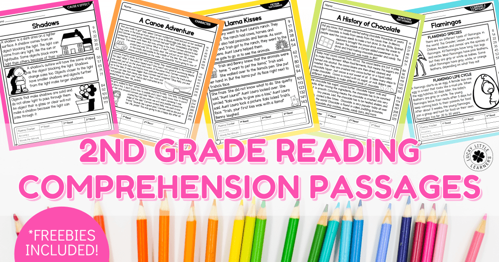 medium resolution of 2nd Grade Reading Comprehension Passages - Lucky Little Learners
