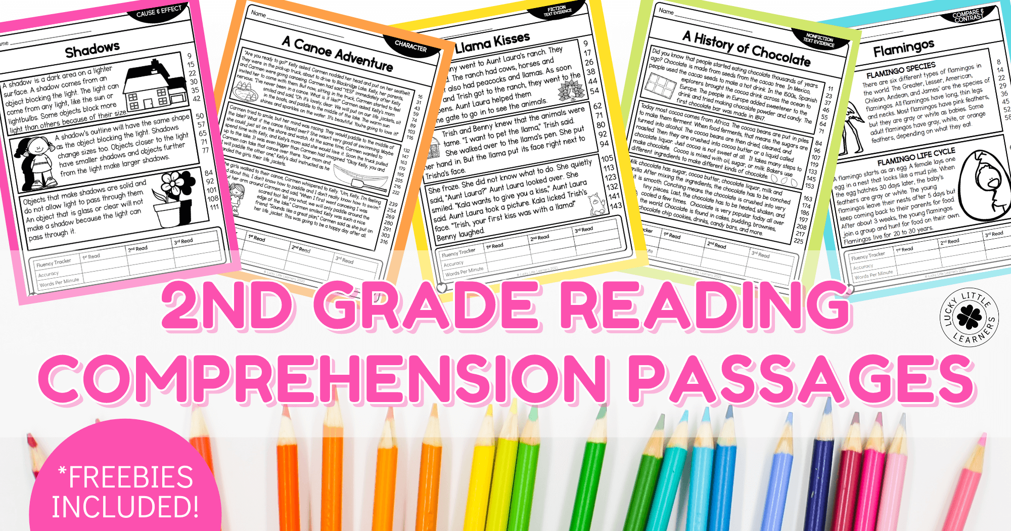 hight resolution of 2nd Grade Reading Comprehension Passages - Lucky Little Learners