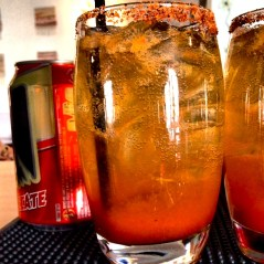 Cooling off with spicy and refreshing micheladas