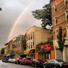 Rainbow over Greenpoint