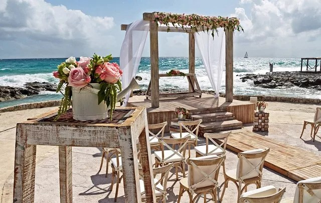 destination wedding in paradise