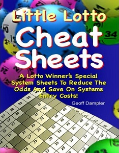 Little Lotto Cheat Sheets - A Lotto Winner's Special System Sheets