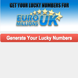 Lucky Numbers for Euromillions