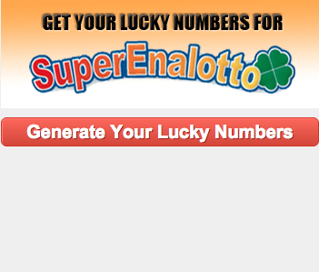 Lucky Numbers for SuperEnalotto
