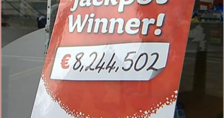 Lucky Lotto Winner Beats the Deadline