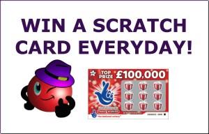 Win a Scratch Card Daily