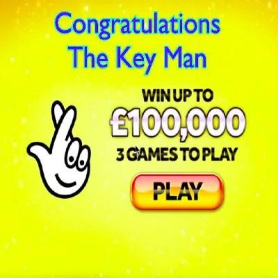 Daily Prize Draw Winner 18-08-2020