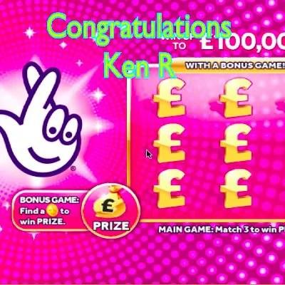 Daily Prize Draw Winner 17-09-2020