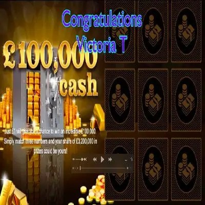 Daily Prize Draw Winner 31-12-2020
