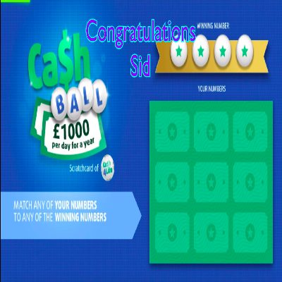 Daily Prize Draw Winner 12-02-2021
