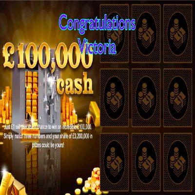 Daily Prize Draw Winner 17-03-2021