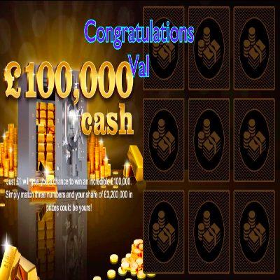 Daily Prize Draw Winner 19-03-2021