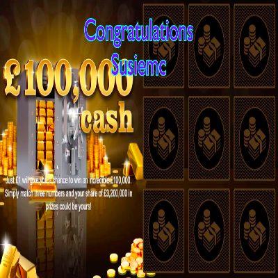 Daily Prize Draw Winner 24-03-2021