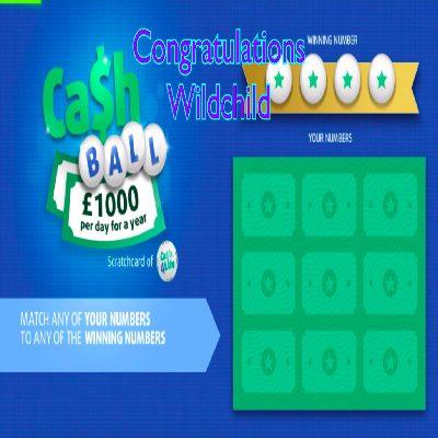Daily Prize Draw Winner25-03-2021