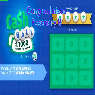 Daily Prize Draw Winner 27-03-2021