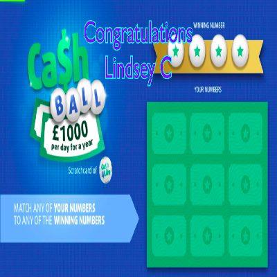 Daily Prize Draw Winner 01-04-2021